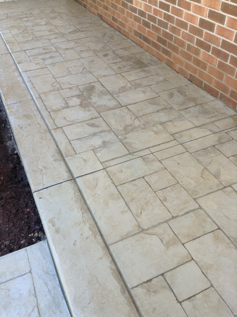Ashlar Slate in beige cream