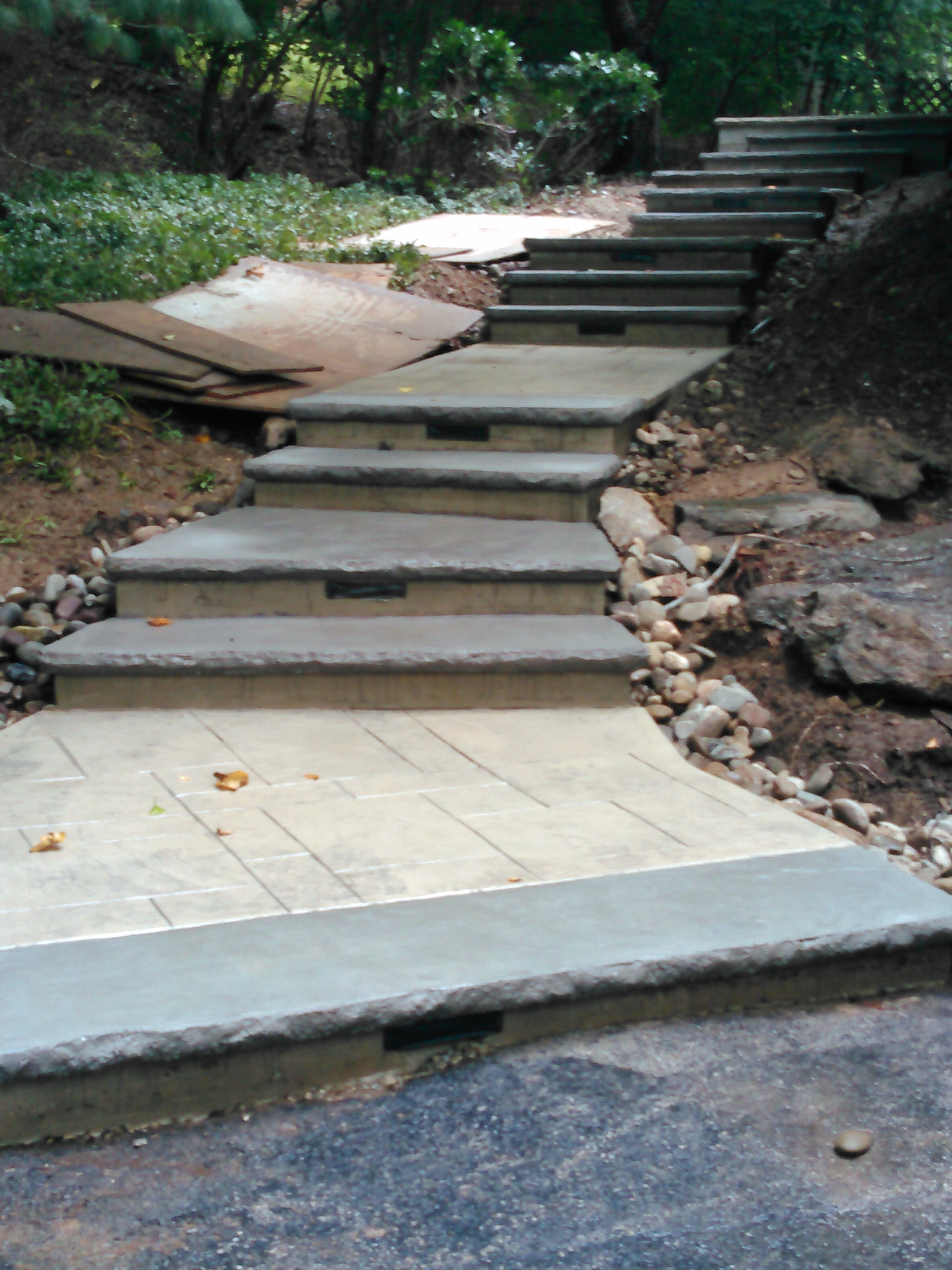 Steps Rockface Reveal