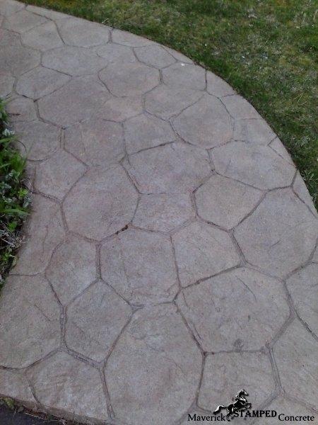 random stone walkway exton