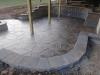 Grand sandstone pattern. Chestnut color w charcole release - Linc Univ