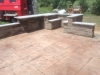 Ashlar slate with walls