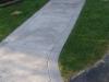 Textured bordered walkway