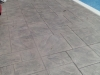 stamped pool deck Jumbo straight line Ashler custom match color