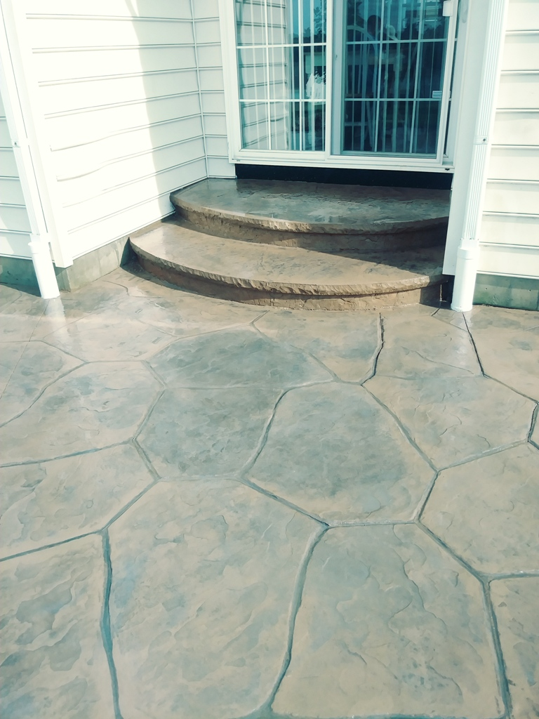 web size Cobblestone Pattern and steps