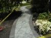 Gray boardered walkway