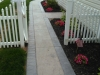 TEXTURED WALKWAY WITH BORDER