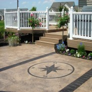 Stamped Concrete Offers Decorative Durability