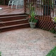 Stamped Stained Concrete A Lower-Cost Alternative