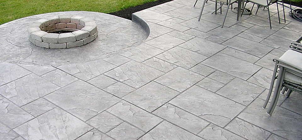 stamped concrete concrete contractor concrete flatwork stamped