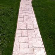 Stamped Concrete Walkway Installation Collegeville