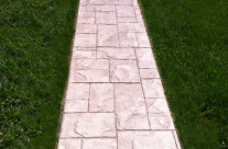 Stamped Concrete Walkway Installation Collegeville