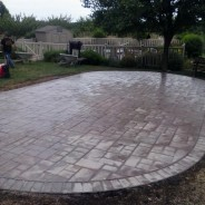 Stamped Concrete Patio Installation Collegeville