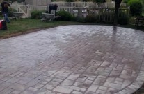 Collegeville Concrete Patio